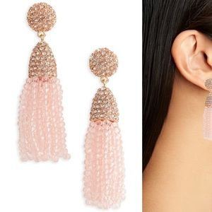 Baublebar mini tassel drop earrings